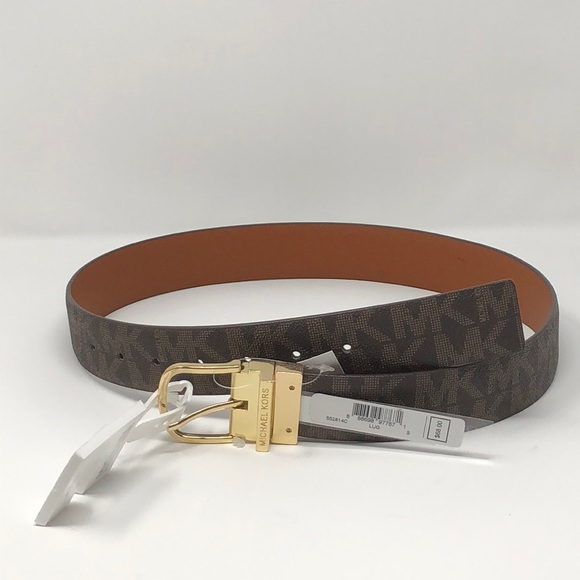3ae8e41481d3a 🌟New Authentic mk reversible brown belt🌟
